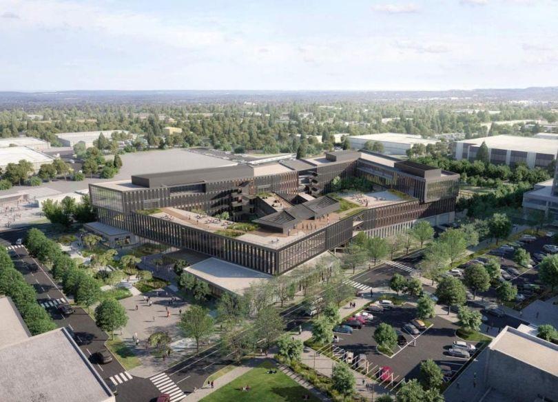 REI's planned Bellevue HQ