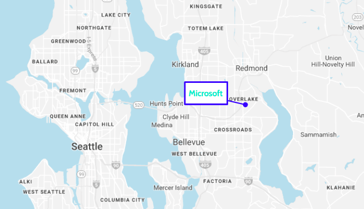 Microsoft Redmond Campus Map A Guide To The Microsoft Redmond Campus   Built In Seattle